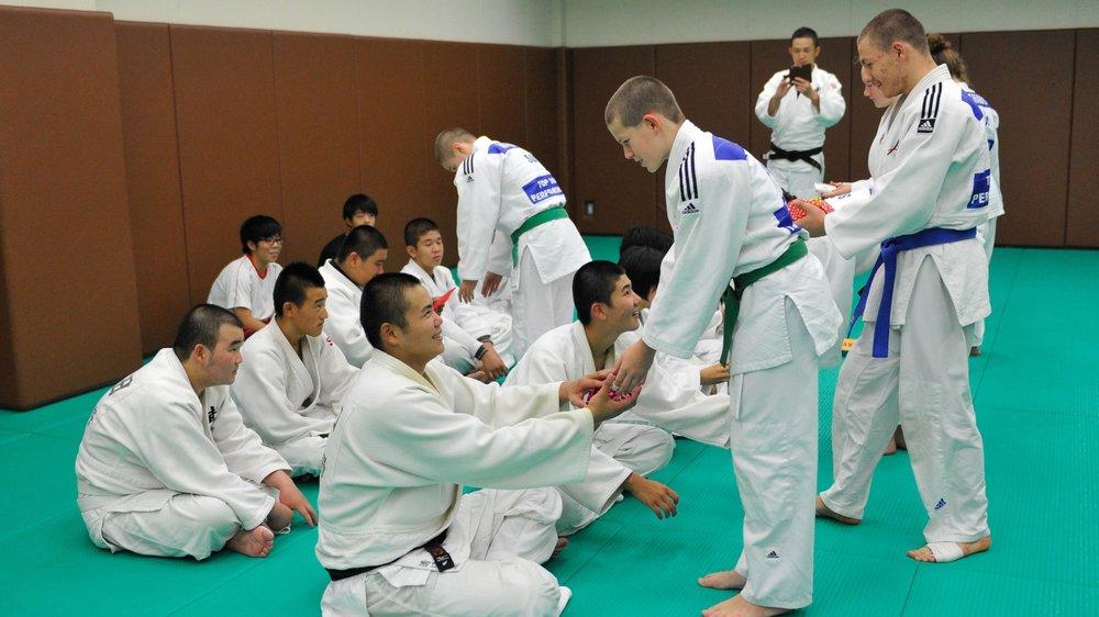 A Tokyo, les judokas carcoies ont pu se confronter à leurs homologues nippons.