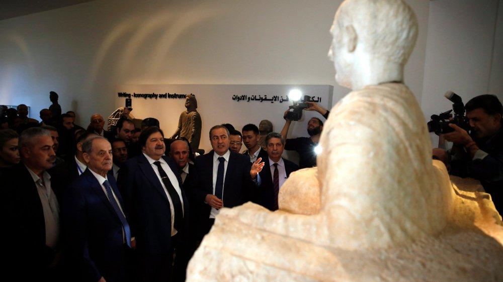 La cérémonie d'inauguration pour la réouverture  du Musée de Damas s'est tenue hier.