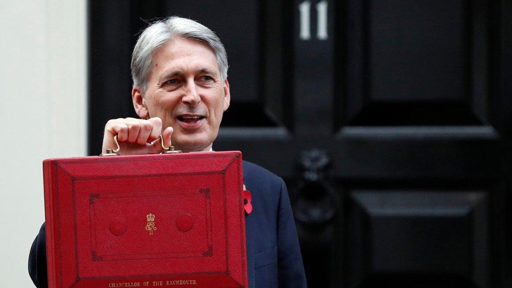 Le budget du chancelier de l'Echiquier, Philip Hammond, prend le parti pris d'un Brexit calme et ordonné.