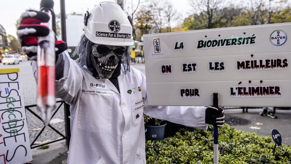La lutte contre le glyphosate a ses sentinelles partout sur la planète, y compris dans le Jura.