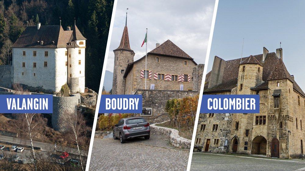 L'avenir des trois châteaux musées est en pleine discussion