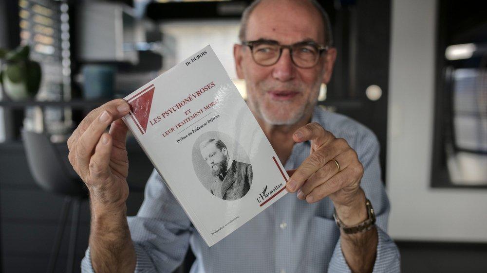 Le neurologue François Ochsner présente le livre majeur de Paul Dubois écrit en 1904, traduit en huit langues et réédité pour la dernière fois en 2007.