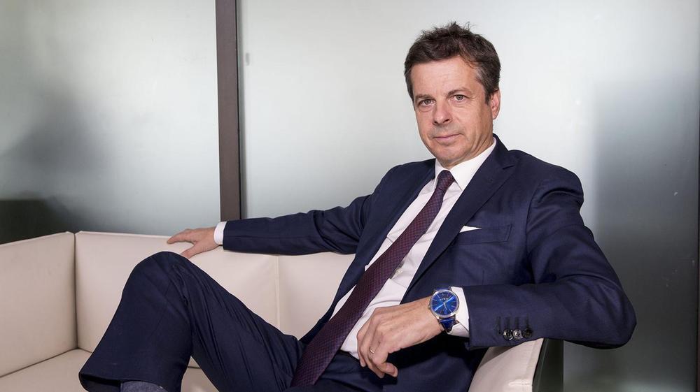 Jérôme Biard, patron de Corum depuis 2017.