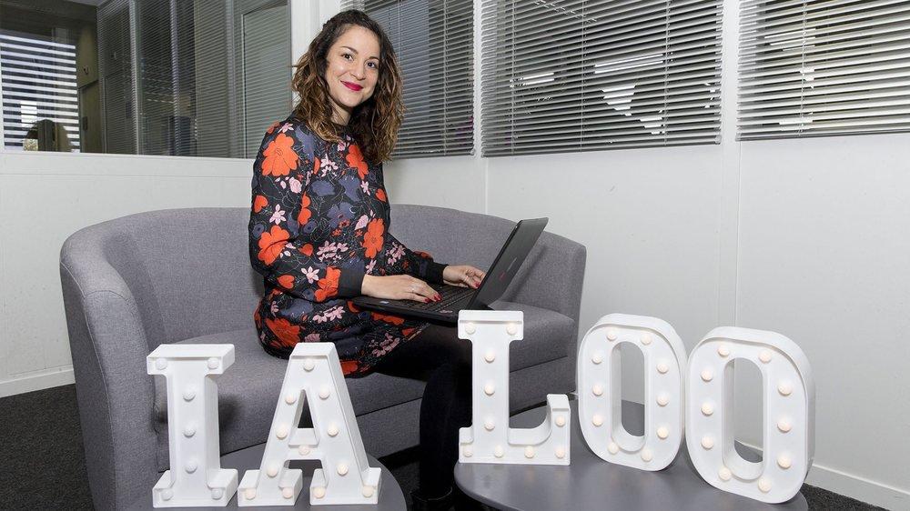 Neuchatel, le 1 novembre 2018, Vanessa Congino, fondatrice ialoo.ch.  © Muriel Antille