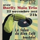 Soirée Brazil Live avec Darlly Maia Trio