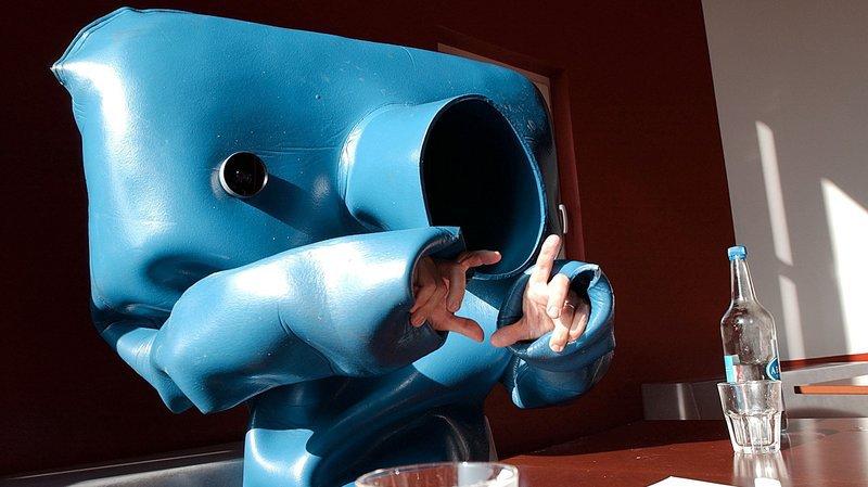 L'Homme bleu fait tout un fromage de ses 20 ans