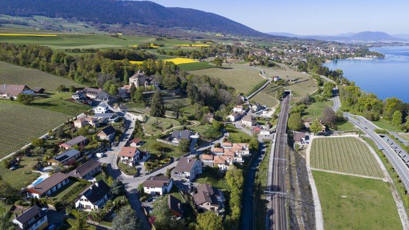 A l'ouest de Neuchâtel, La Grande Béroche anticipe un développement basé sur la qualité de vie