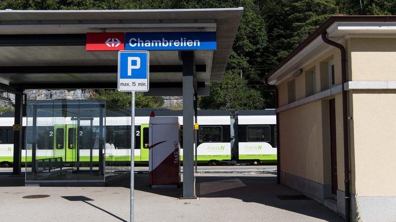 La Berne fédérale veut financer l'évitement ferroviaire du cul-de-sac de Chambrelien.