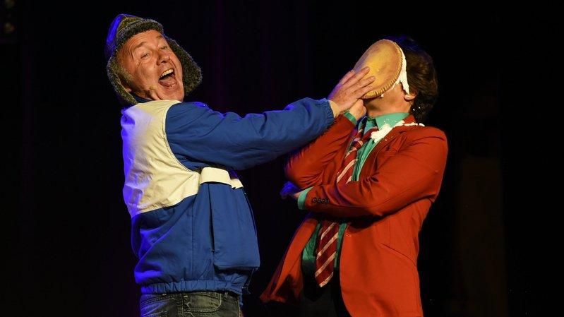 Les légendes du rire neuchâteloises Cuche et Barbezat partageront la scène avec Yann Lambiel, notamment.