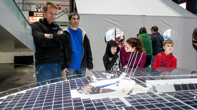 L'exposition «Pionniers et aventuriers de l'énergie solaire» sera visible jusqu'au 17 novembre à Marin-Centre.