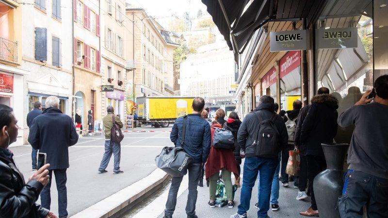 Neuchâtel: un jeune désespéré saute du parking du Seyon