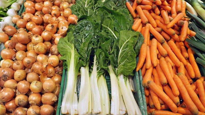 Les analyses des résultats ont montré que les participants qui étaient les plus gros consommateurs d'aliments bio présentaient un risque de cancer 25% moins élevé que ceux qui en mangeaient moins. (illustration)
