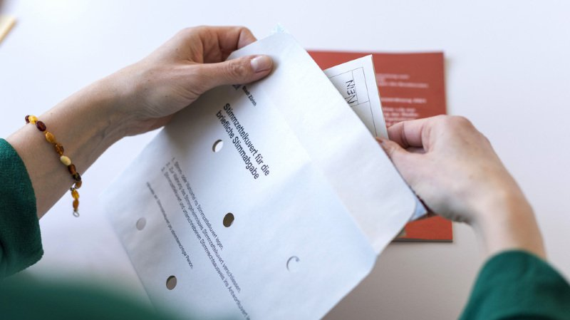 Votations du 25 novembre: une erreur s'est glissée dans la brochure du Conseil fédéral