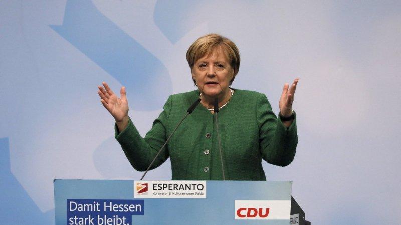 Allemagne: Angela Merkel va renoncer à la présidence de son parti, la CDU, et quittera la politique en 2021
