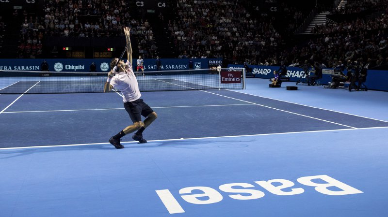 Depuis qu'il participe au tournoi de Bâle, Roger Federer n'a manqué que quatre fois la finale.