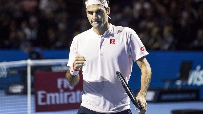 """Tennis - Swiss Indoors: Roger Federer se dit """"impatient de jouer cette finale"""""""