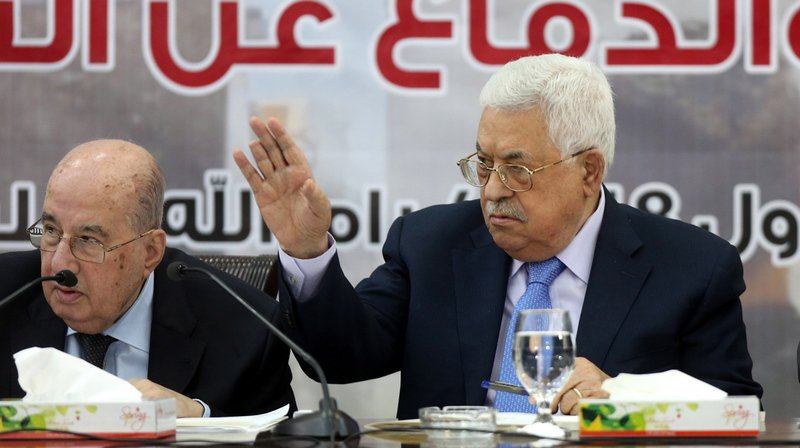 Mahmoud Abbas s'exprimait à l'occasion d'une réunion du Conseil central palestinien, un organe clé de l'Organisation de libération de la Palestine (OLP).