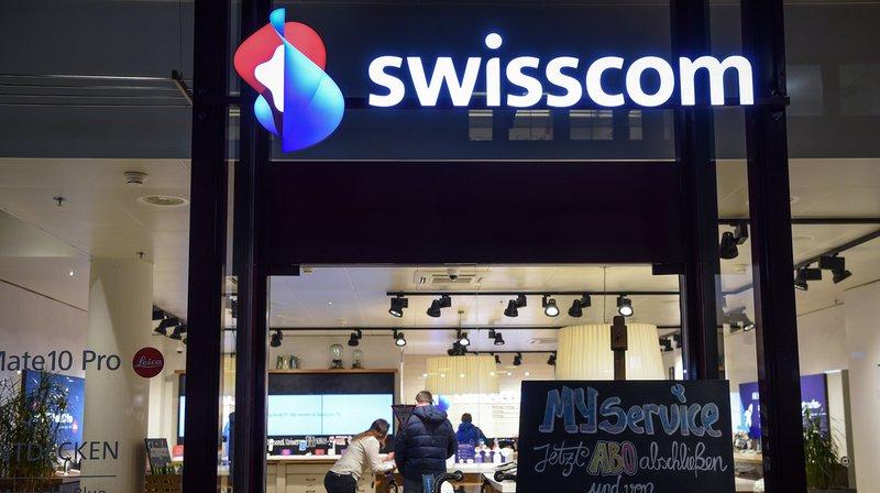 Télécommunications: Swisscom enregistre une légère hausse de son chiffre d'affaires