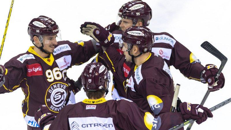 Hockey sur glace: victoire de Lausanne, Genève et Fribourg en National League