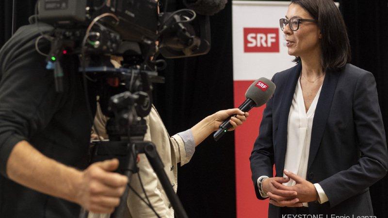 Nathalie Wappler veut redonner confiance aux auditeurs et aux téléspectateurs de la SRF.