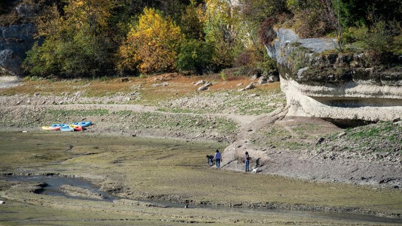 Un enfant de 6 ans  prisonnier de la boue à Villers-le-Lac