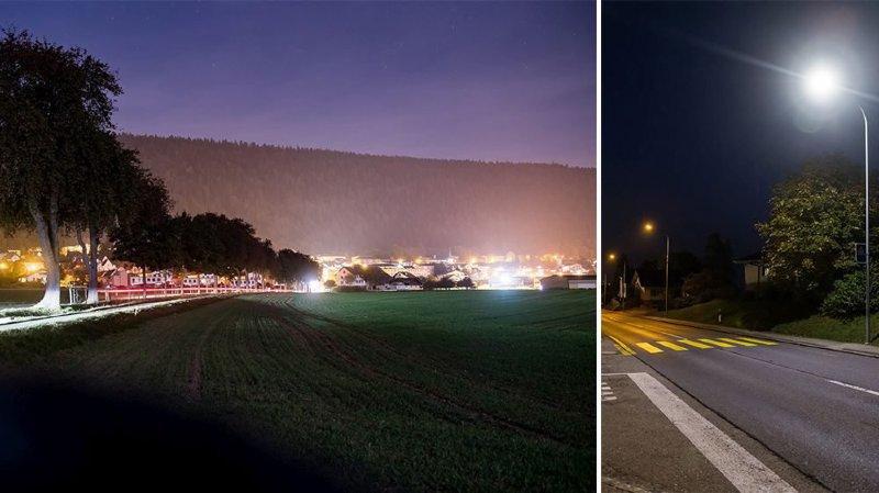 Val-de-Ruz pourrait devenir la plus grande commune de Suisse plongée dans la nuit noire