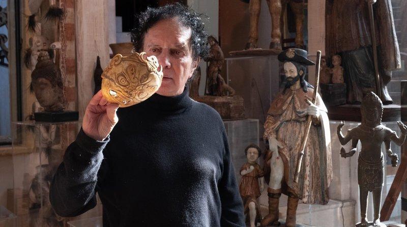 Les mille vies de Pierre-Yves Gabus, l'antiquaire et commissaire-priseur controversé de Montalchez