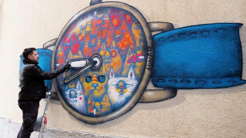 Oeuvre engagée d'un artiste de Zagreb au Locle