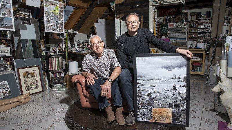 La Chaux-de-Fonds: appel aux dons pour financer la BD «L'or des sapins»