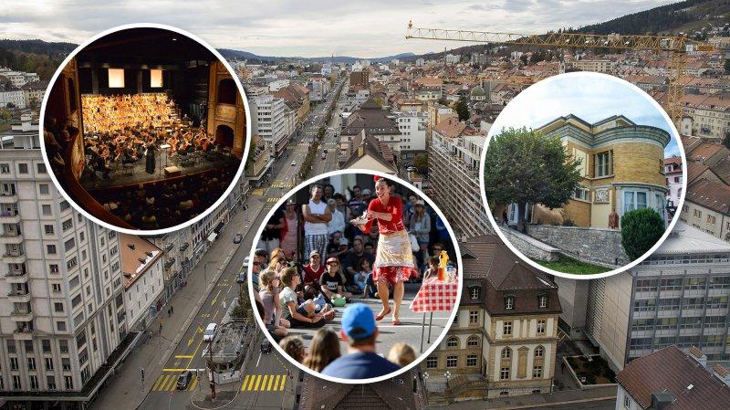 La Chaux-de-Fonds pressentie pour devenir la première capitale culturelle de Suisse en 2024