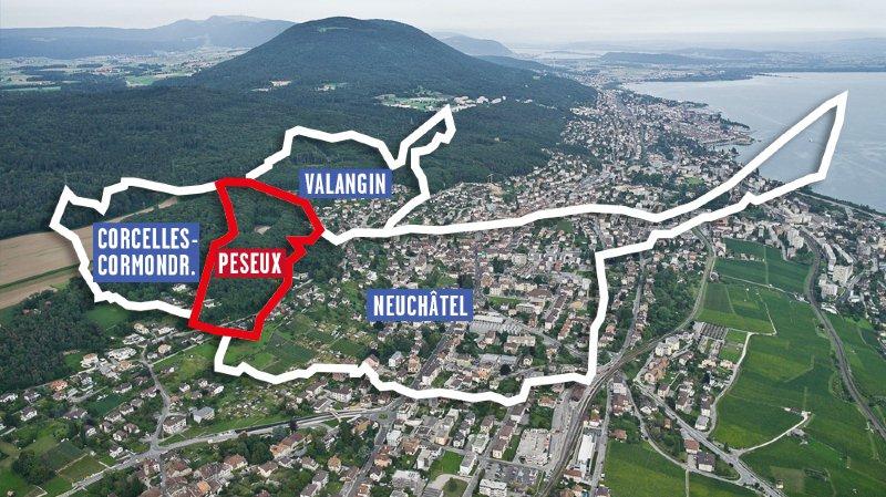 Peseux: Le Canton confirme son soutien financier de  8,2 millions de francs à la fusion pour un grand Neuchâtel