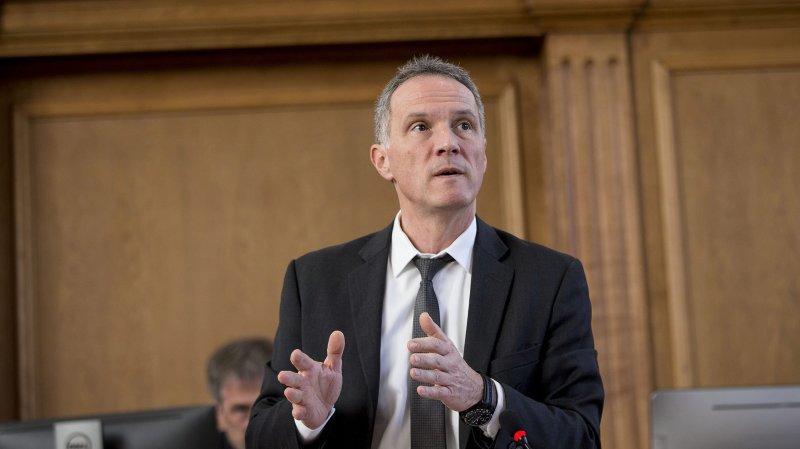 La situation financière de Lignières n'émeut pas le conseiller d'Etat neuchâtelois Laurent Kurth