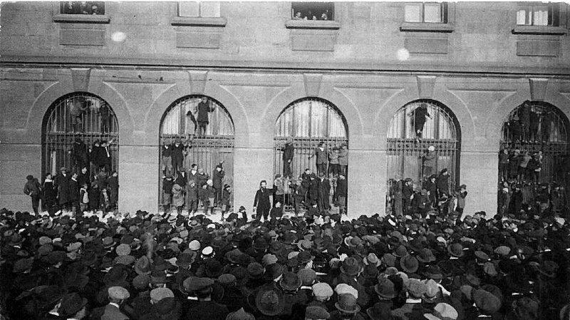 Il y a 100 ans, La Chaux-de-Fonds était la ville romande la plus mobilisée pour la grève générale