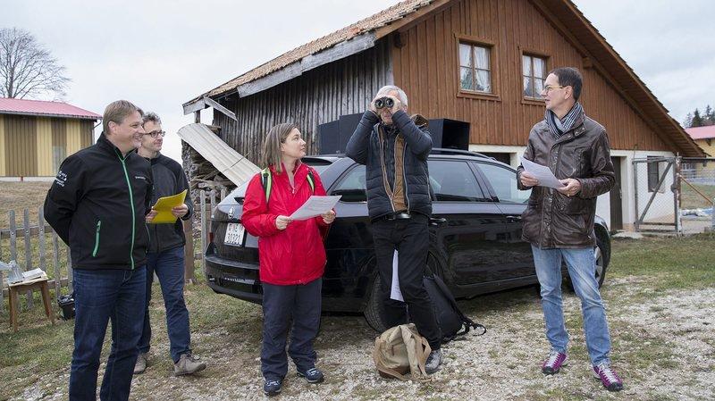 Éoliennes: un système pour sauver les oiseaux développé à la Montagne de Buttes