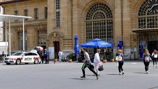 Prison ferme et expulsion pour un jeune Français bagarreur qui traînait à la gare de La Chaux-de-Fonds