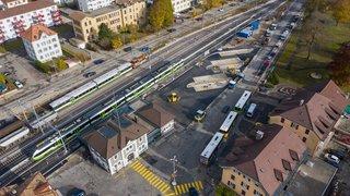 Lifting à deux millions pour la place de la Gare de Fleurier