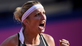 Tennis: après son titre à Nantes, Bacsinszky se qualifie en huitième à Limoges en battant Alizé Cornet