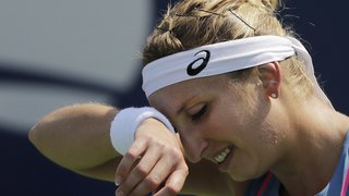 Tennis - Tournoi de Limoges: Timea Bacsinszky s'incline face à Vera Zvoraneva