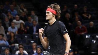 Tennis – Masters de Londres: Zverev s'impose en deux sets face à Cilic