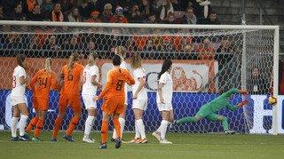 Football – Qualifications Coupe du monde: les Suissesses s'inclinent 3-0 face aux Pays-Bas