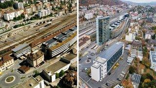 En octobre 1998, 480 collaborateurs de l'OFS quittaient Berne pour de nouveaux bureaux à Neuchâtel