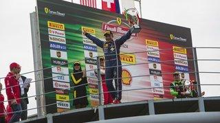 Christophe Hurni est champion d'Europe et du monde du Ferrari Challenge