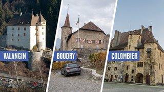 Les châteaux de Boudry, Colombier et Valangin devraient avoir une direction unique