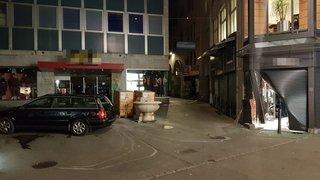 Saint-Gall: une bijouterie vandalisée à la suite d'un vol spectaculaire à la voiture-bélier