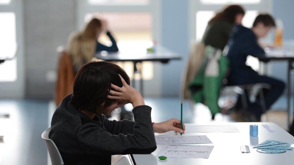 Les élèves pourront repasser l'examen.