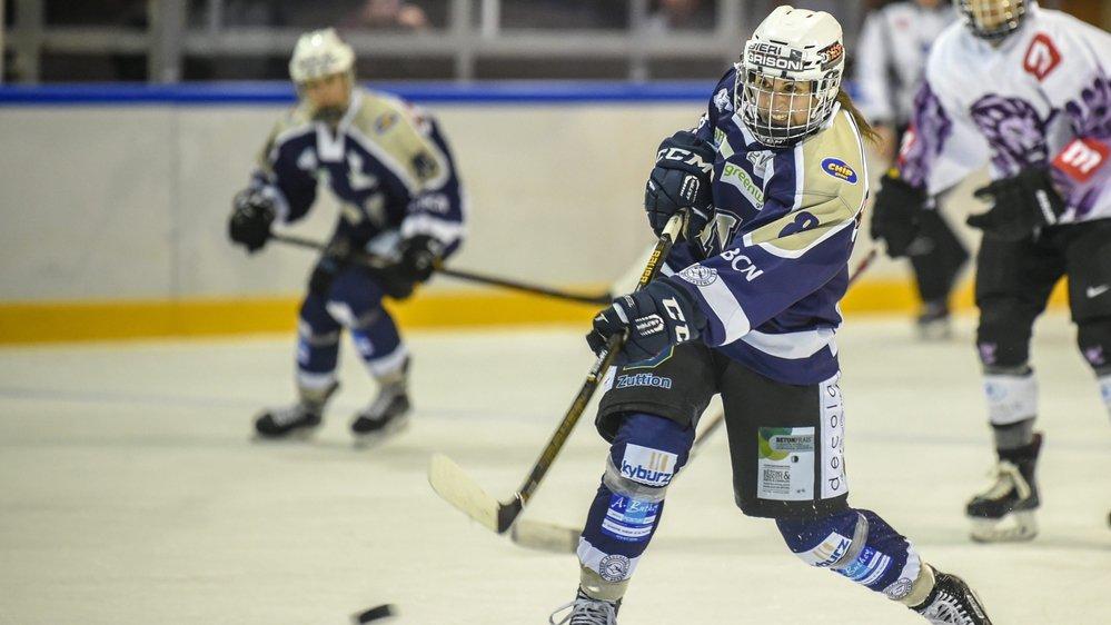 Cindy Joray est une hockeyeuse passionnée qui vit son sport à fond et ça se voit!