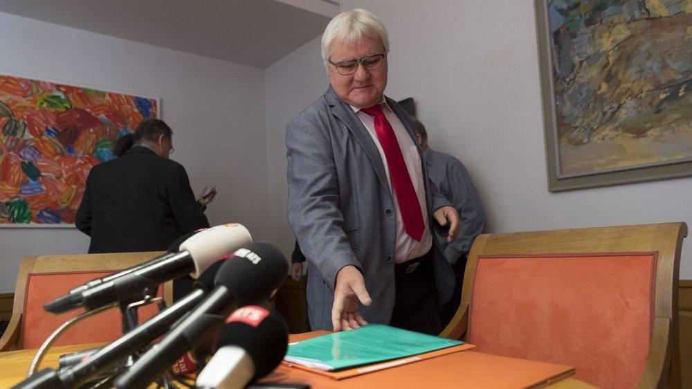 Sous le feu des projecteurs depuis l'annulation du vote du 18 juin 2017, Marcel Winistoerfer a été au centre de séquences télévisuelles où son langage a parfois frappé les esprits.