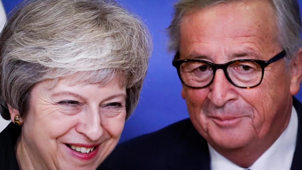La première ministre britannique, Theresa May, a rencontré, mercredi, à Bruxelles, le président de la Commission européenne, Jean-Claude Juncker.