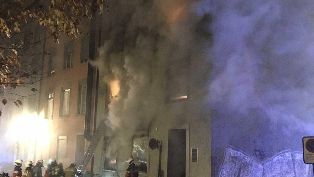 L'incendie s'est déclaré en pleine nuit.