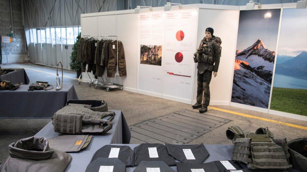 A la base, Berne voulait 377millions pour un nouveau système d'habillement militaire.
